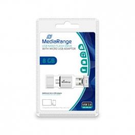 PENDRIVE DUO MEDIARANGE NANO 8GB MICRO USB OTG