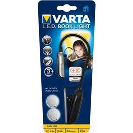 Linterna LED de lectura con pinza/ 2 pilas incluídas