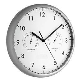 Reloj de oficina gris TFA 98.1072