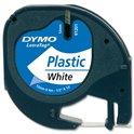 CINTA DYMO LETRATAG PLASTIC BLANCA 91201 S0721610