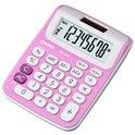 Calculadora de sobremesa Casio MS 6NC PK rosa claro